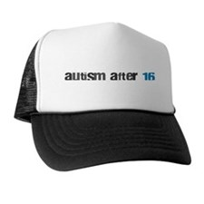 Autism After 16 Logo Trucker Hat
