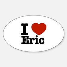 I love Eric Decal