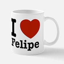 I love Felipe Small Small Mug