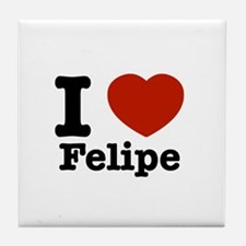 I love Felipe Tile Coaster