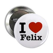 """I love Felix 2.25"""" Button (10 pack)"""