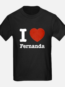 I love Fernanda T
