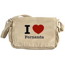 I love Fernanda Messenger Bag