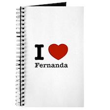 I love Fernanda Journal
