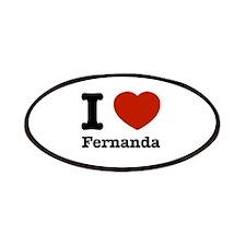 I love Fernanda Patches