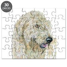 Cream Labradoodle #3 Puzzle