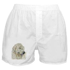Cream Labradoodle #3 Boxer Shorts