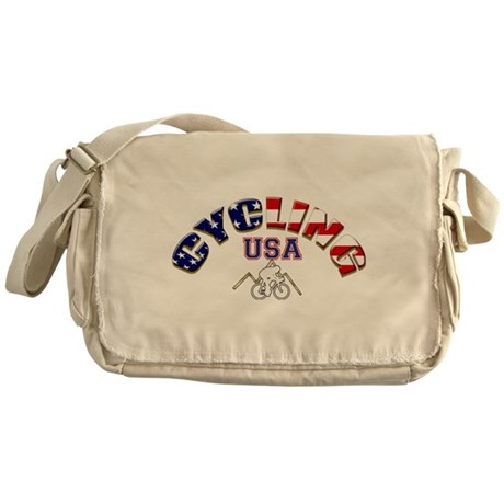 USA Cycling Messenger Bag