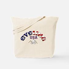 USA Cycling Tote Bag