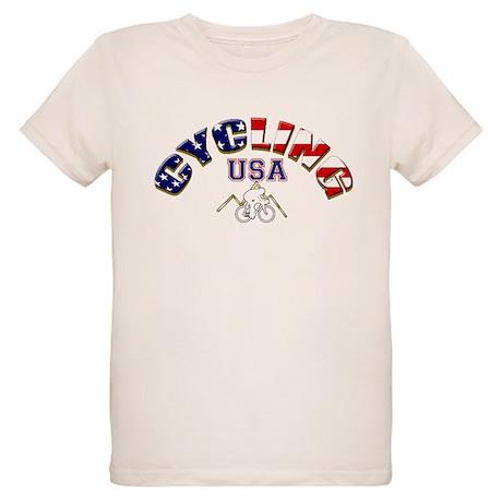 USA Cycling Organic Kids T-Shirt