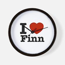I love Finn Wall Clock