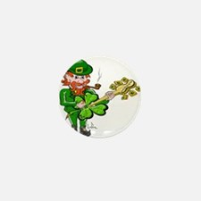 Leprechaun Guitar Mini Button