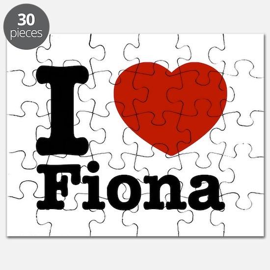 I love Fiona Puzzle