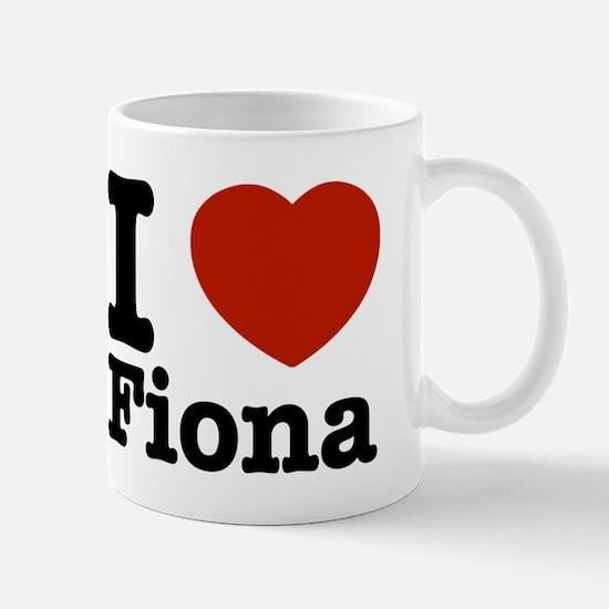 I love Fiona Mug