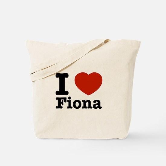 I love Fiona Tote Bag