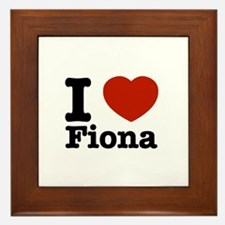 I love Fiona Framed Tile