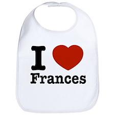I love Frances Bib