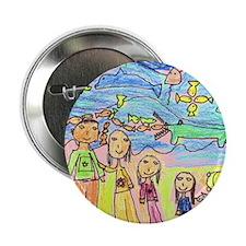 "Tiana's family in the Mountai 2.25"" Button (100 pa"