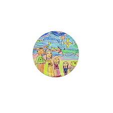 Tiana's family in the Mountai Mini Button
