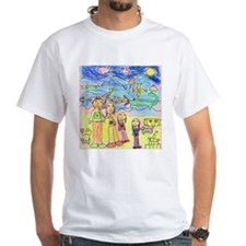 Tiana's family in the Mountai Shirt