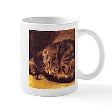 Renoir's Sleeping Cat Mug