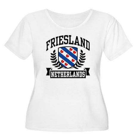 Friesland Netherlands Women's Plus Size Scoop Neck