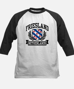Friesland Netherlands Kids Baseball Jersey