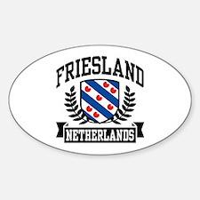Friesland Netherlands Decal