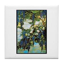 Wistaria by Tiffany Tile Coaster