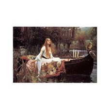 Lady of Shalott Rectangle Magnet