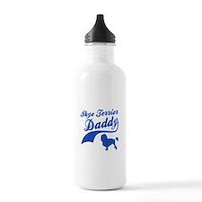 Skye Terrier Daddy Sports Water Bottle