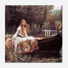 Lady of Shalott Tile Coaster