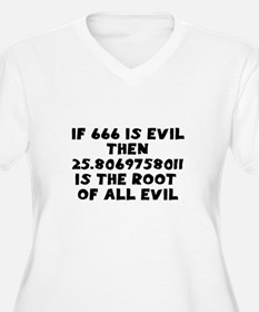 666 Root of all evil T-Shirt