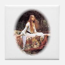 Lady of Shalott Tile Coaster