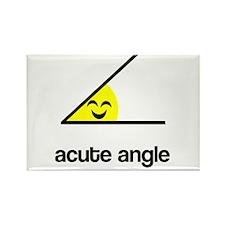Acute a cute angle Rectangle Magnet