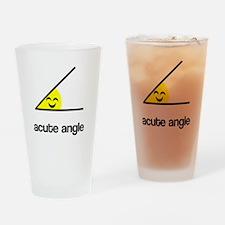 Acute a cute angle Drinking Glass