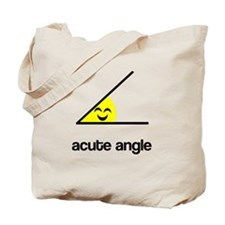 Acute a cute angle Tote Bag