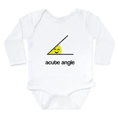 Acute a cute angle Long Sleeve Infant Bodysuit