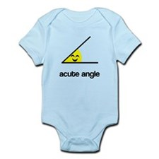 Acute a cute angle Infant Bodysuit