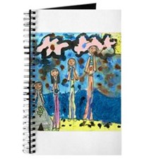 Tiana's family at the Beach! Journal