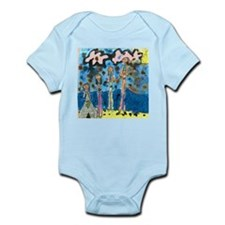 Tiana's family at the Beach! Infant Creeper