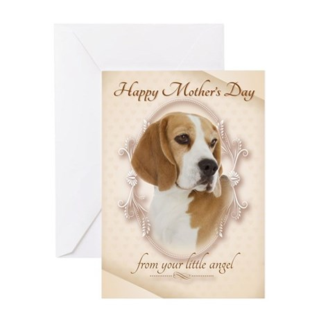 Funny Beagle Mother's Day Card
