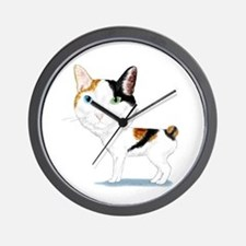 Japanese Bobtail Caricature Wall Clock