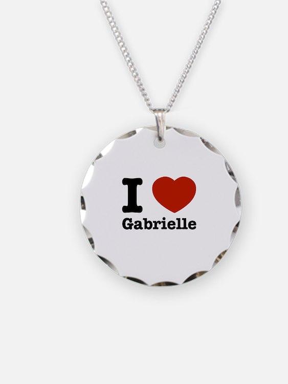 I love Gabrielle Necklace