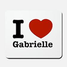 I love Gabrielle Mousepad