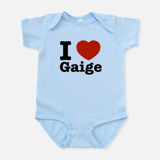 I love Gaige Infant Bodysuit