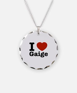 I love Gaige Necklace