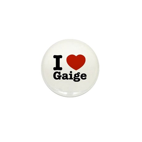 I love Gaige Mini Button (100 pack)