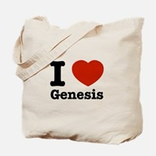 I love Genesis Tote Bag