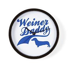 Weiner Daddy Wall Clock